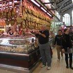 Gastronomia do Mercado - Embutidos e o famoso Pata Negra