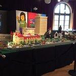 Lego model of Saginaw