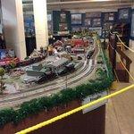 choo choo- model railway in basement