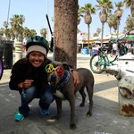 Some of the characters you'll meet in Venice Beach
