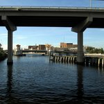 Under the bridges of the Hillsborough River