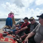 The Totora Reeds Long Boat ride