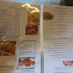 Great Menu...eat well under $10