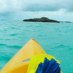 Rent a kayak, SUP, snorkels, etc from the resort