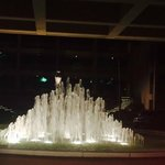 Entrance Fountains Outside