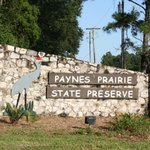 Front Park Entrance-Florida´s First State Preserve In 1971