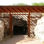 Entrance of the Good Enough Mine Tour