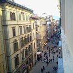 vista a la calle principal