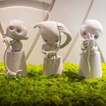 Baby aliens in the lobby.