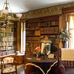 Wilcox Mansion's library 1
