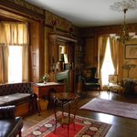 Wilcox Mansion's library 2