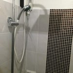 Tiny trickle of cold water for a shower