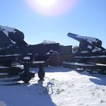 Fort McHenry's civil war canons