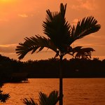 Sunset from the waterfront at Kalla Bongo