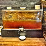 Novel way to house honey