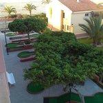 Minigolfbane ved Hotel Playaluna