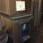 Broken ice machine