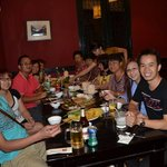 enjoy last day dinner with Tai Ngo