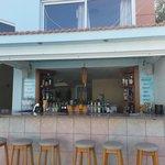 The Pool bar at Athena Appts