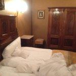 Blick ins Hotelzimmer