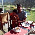 Breakfast with my boy