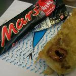 Deep Fried Battered Mars Bar