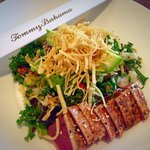 Seared ahi salad... To die for!!!