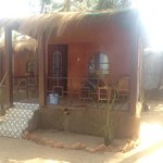 our hut