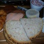 Fish deli platter