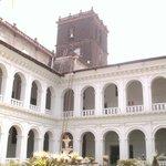 Basilica Of Bom Jesus Garden area