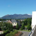 View from balcony Park Place Apartments Killarney