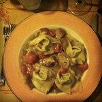 ravioli con ricotta,spinaci e porcini