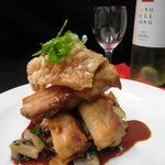 Maiale alla Pantano (Slow roasted pork belly)
