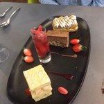 Assiette assortiment de desserts !