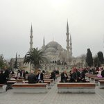 very close to Blue Mosque