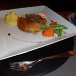 beef wellington to share -delicious!