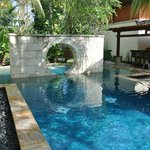 The pool at the spa - perfect retreat