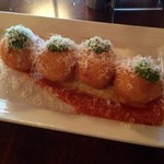 Goat Cheese Fritters.... Amazing!