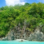 The Mermaid Throne - great little spot on St John only accessible by boat