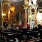 Real Iglesia de San Lorenzo: Torino: Italia: altare