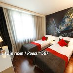 Classic Twin room / Room no. 607