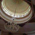 Dôme du hall d'entrée