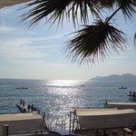 From beach bar