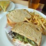 Room service,club sandwich.