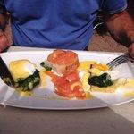 Eggs fiorentine