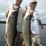 2 Lake Trout at the same time!