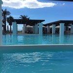 Main swimming pool and pool testaurant