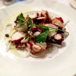 charcoal broil octopus appetizer