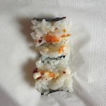 maki missing salmon and boursin (delivered empty)