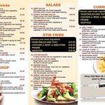 New menu 2014